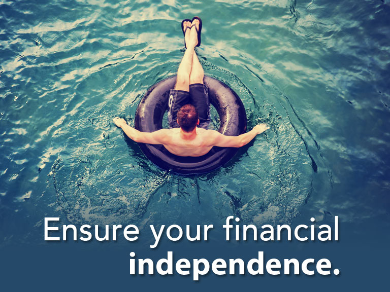 Ensure financial independence